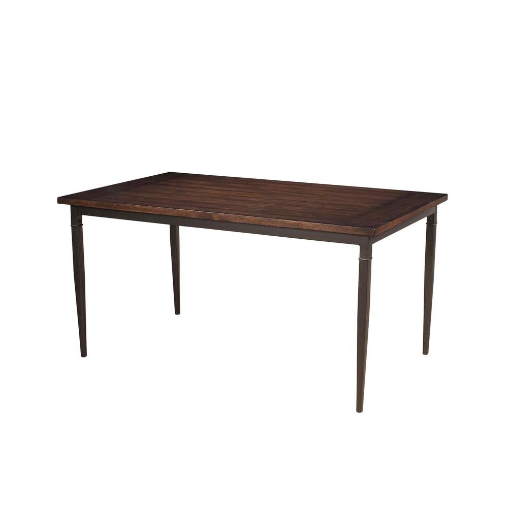 Hillsdale Furniture Cameron Dark Grey Dining Table