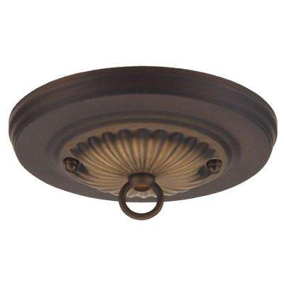 5 in. Oil Rubbed Bronze Traditional Canopy Kit