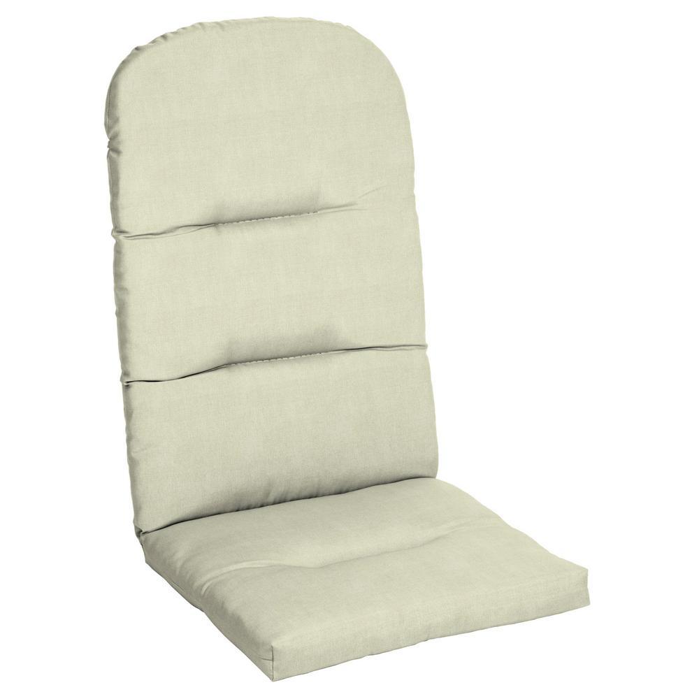 CushionGuard Oatmeal Outdoor Adirondack Chair Cushion