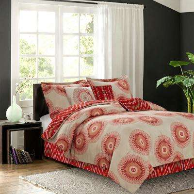 Marrakesh Spice 7-Piece Queen Comforter Set