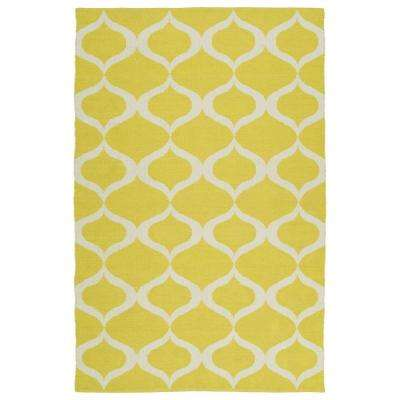8 X 10 Yellow Outdoor Rugs Rugs The Home Depot