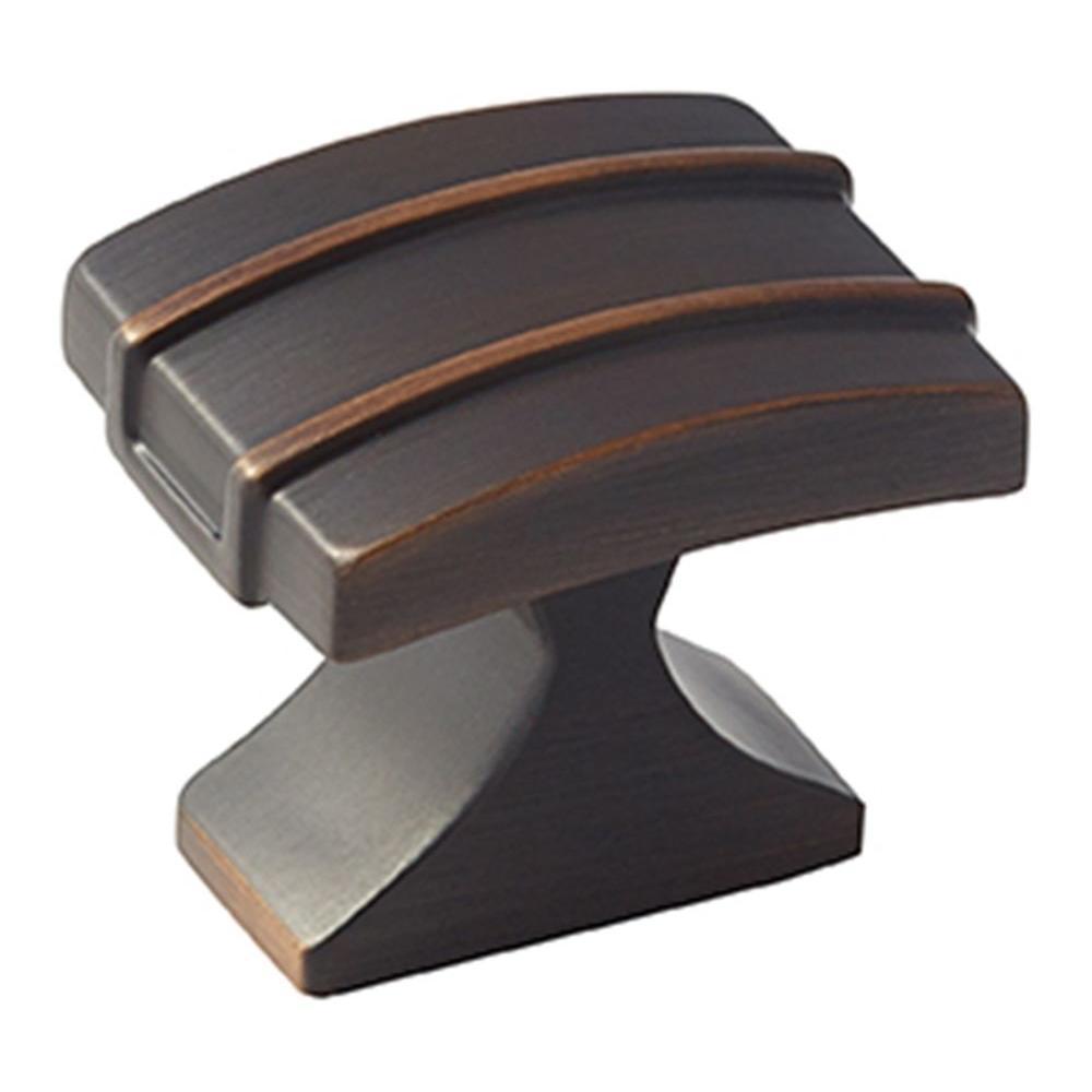 Davenport 1-1/4 in. (32 mm) Oil-Rubbed Bronze Cabinet Knob