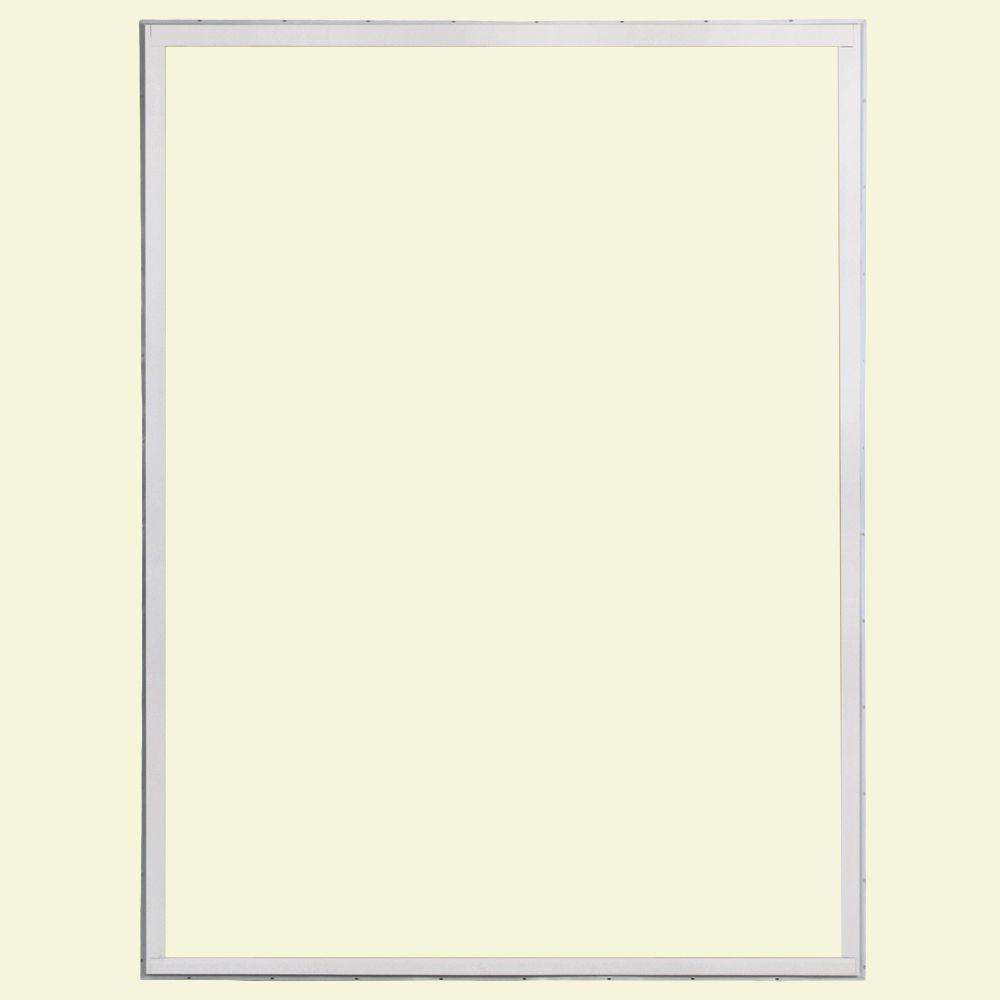 72 in. x 80 in. 50 Series White Vinyl Sliding Patio