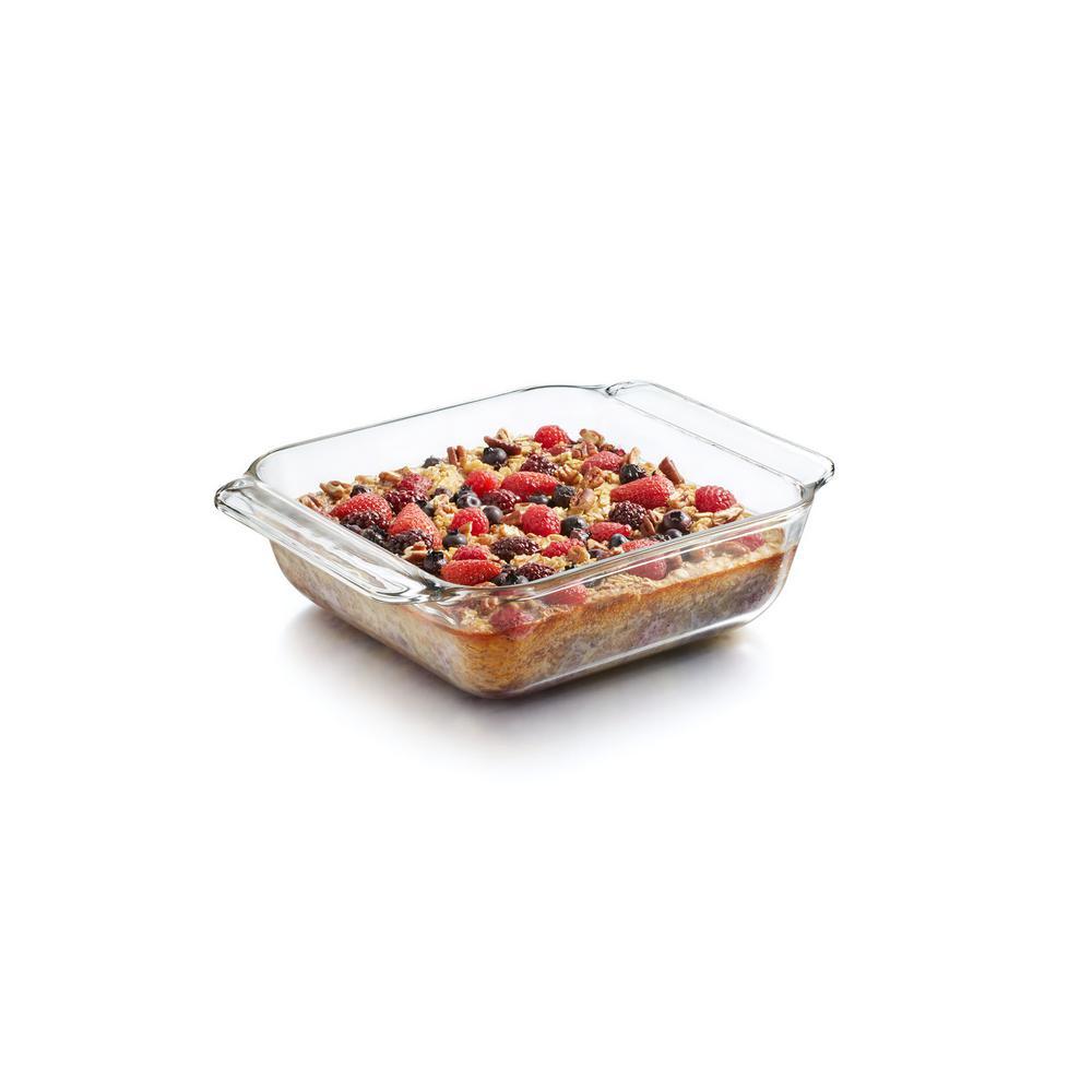 Baker's Premium 8-inch by 8-inch Glass Bake Dish