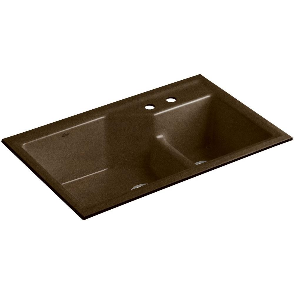 Black Cast Iron Kitchen Sinks Undermount