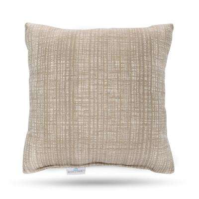 Outdura Mia Dune Square Outdoor Throw Pillow (2-Pack)