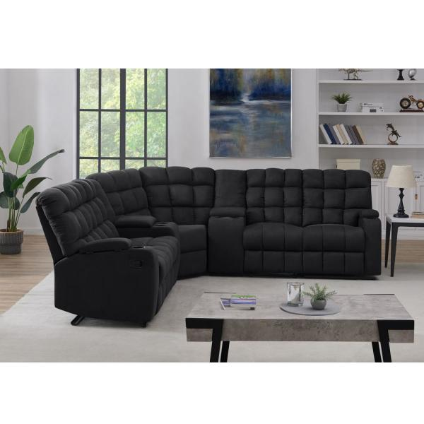 5 Seat Recliner Sectional