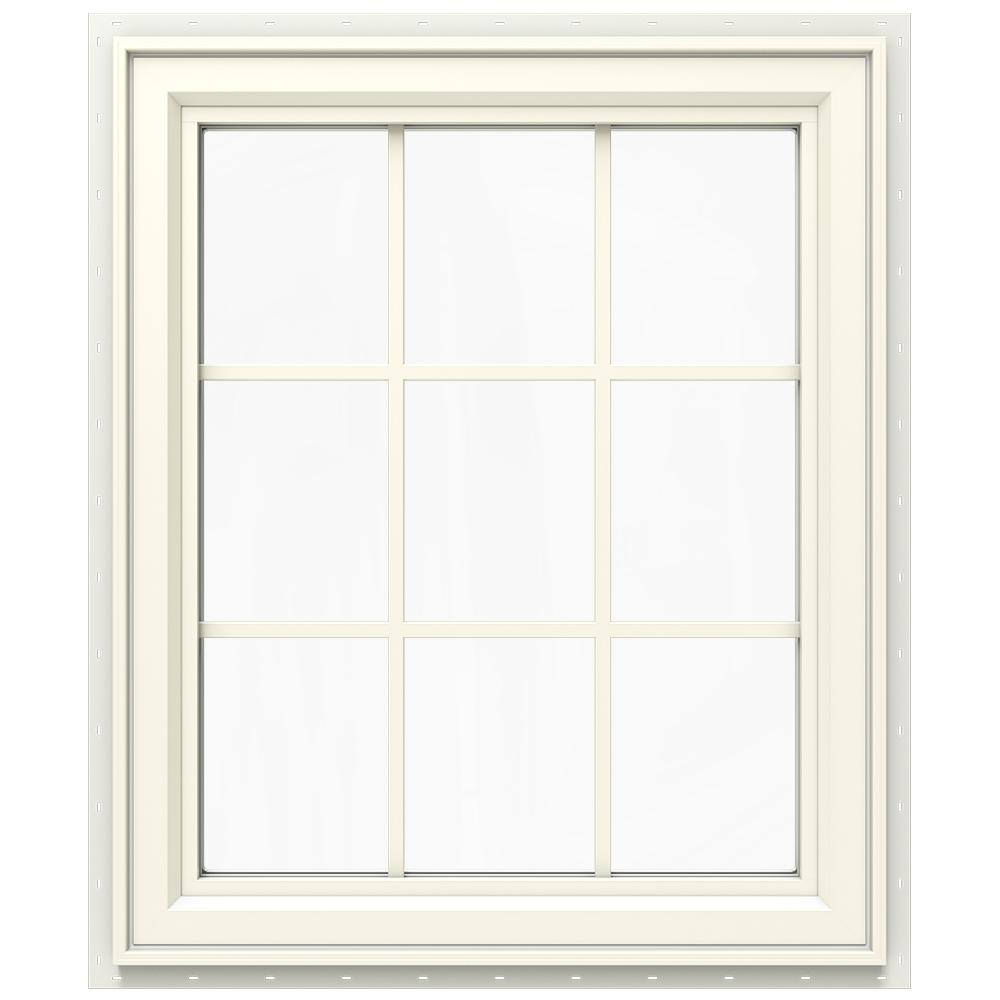 29.5 in. x 35.5 in. V-4500 Series Right-Hand Casement Vinyl Window