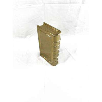 Gold Large Ceramic Bookend