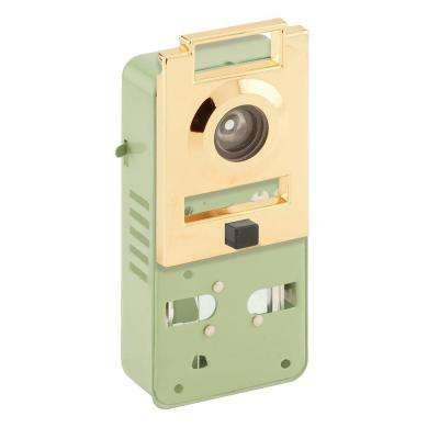 200 Degree Metal Brass Door Viewer with Chime