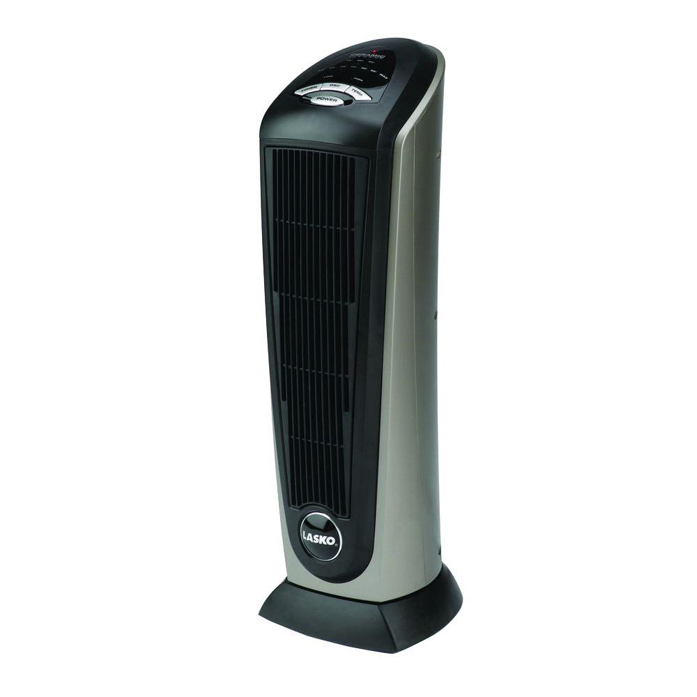 Lasko 23 in 1500 watt electric portable ceramic tower Space heating options