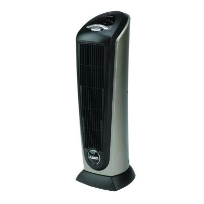 Tower 21 in. 1500-Watt Electric Ceramic Oscillating Tower Space Heater with Remote Control