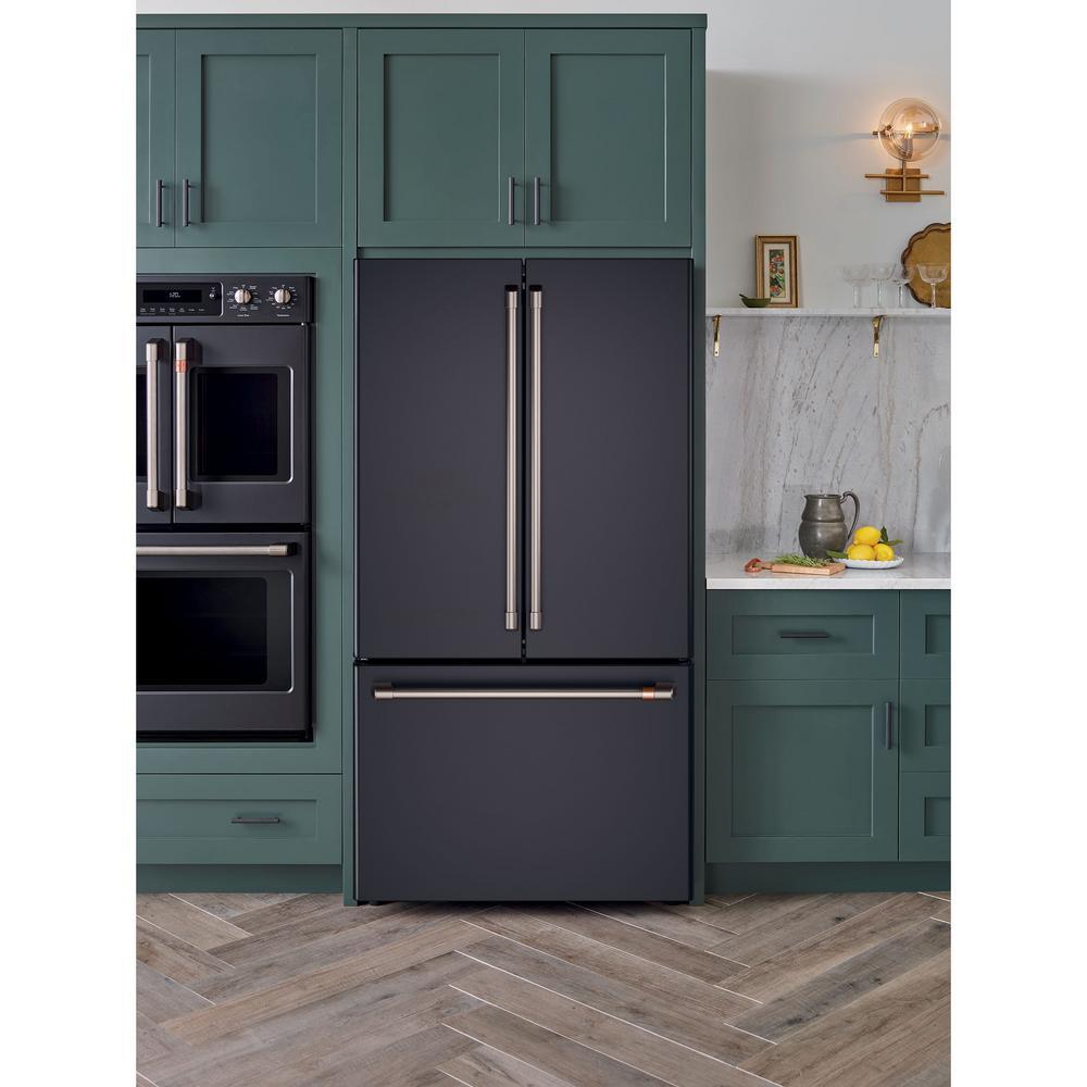 French Door Refrigerator In Matte Black
