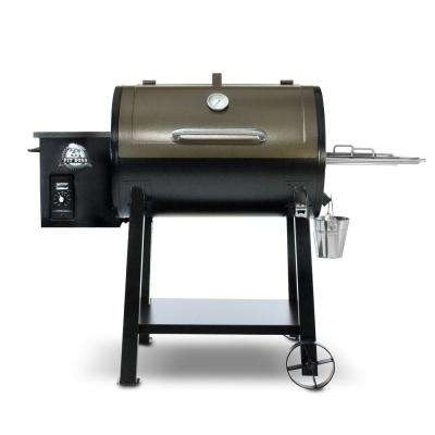 440 Deluxe Pellet Grill - Black and Copper