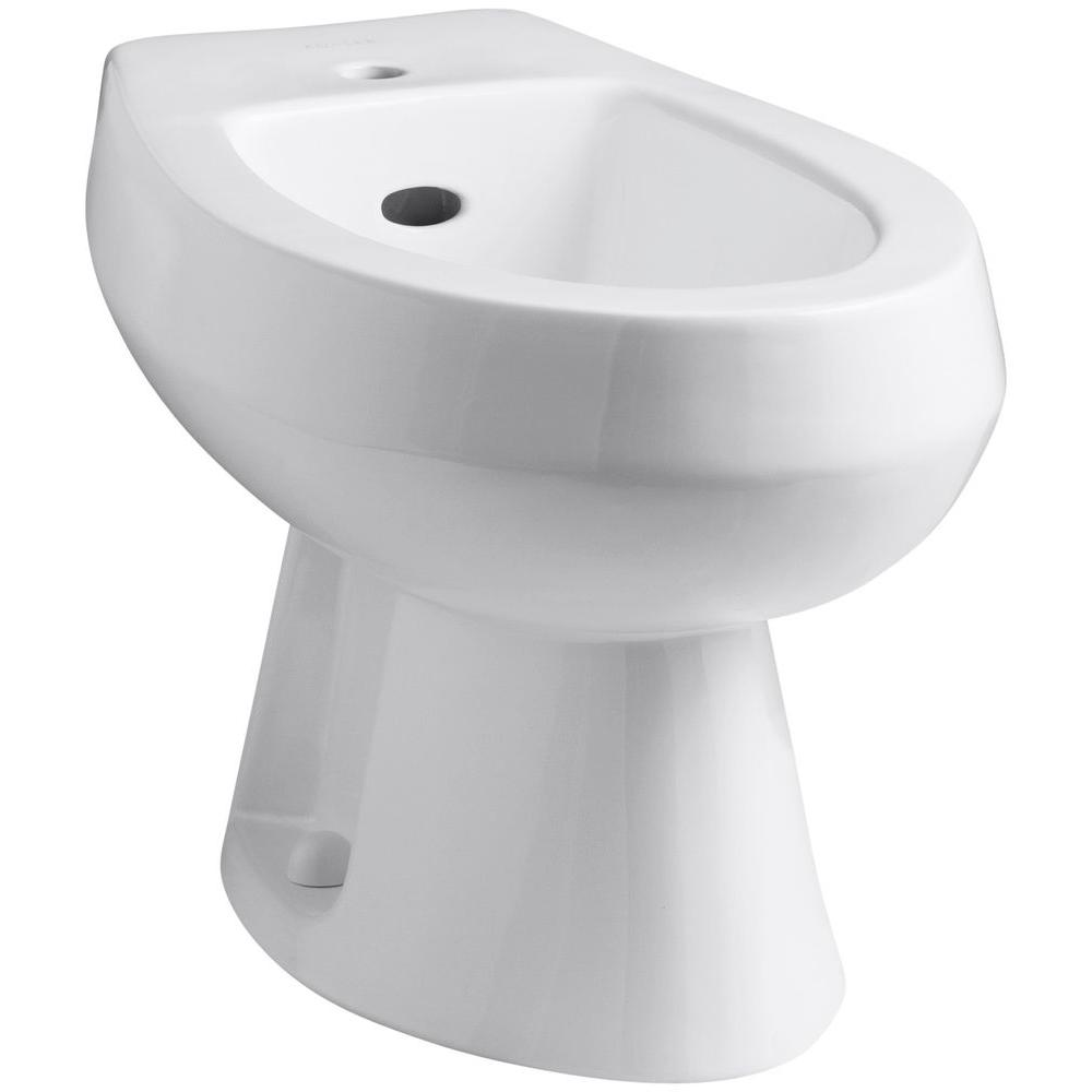 KOHLER Amaretto Elongated Bidet in White-K-4876-0 - The Home Depot