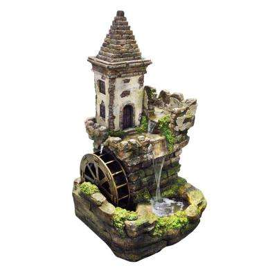 35 in. Castle Tiered Fountain