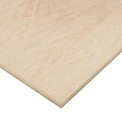 3/4 in. x 4 ft. x 4 ft. PureBond Maple Plywood Project Panel (Free Custom Cut Available)