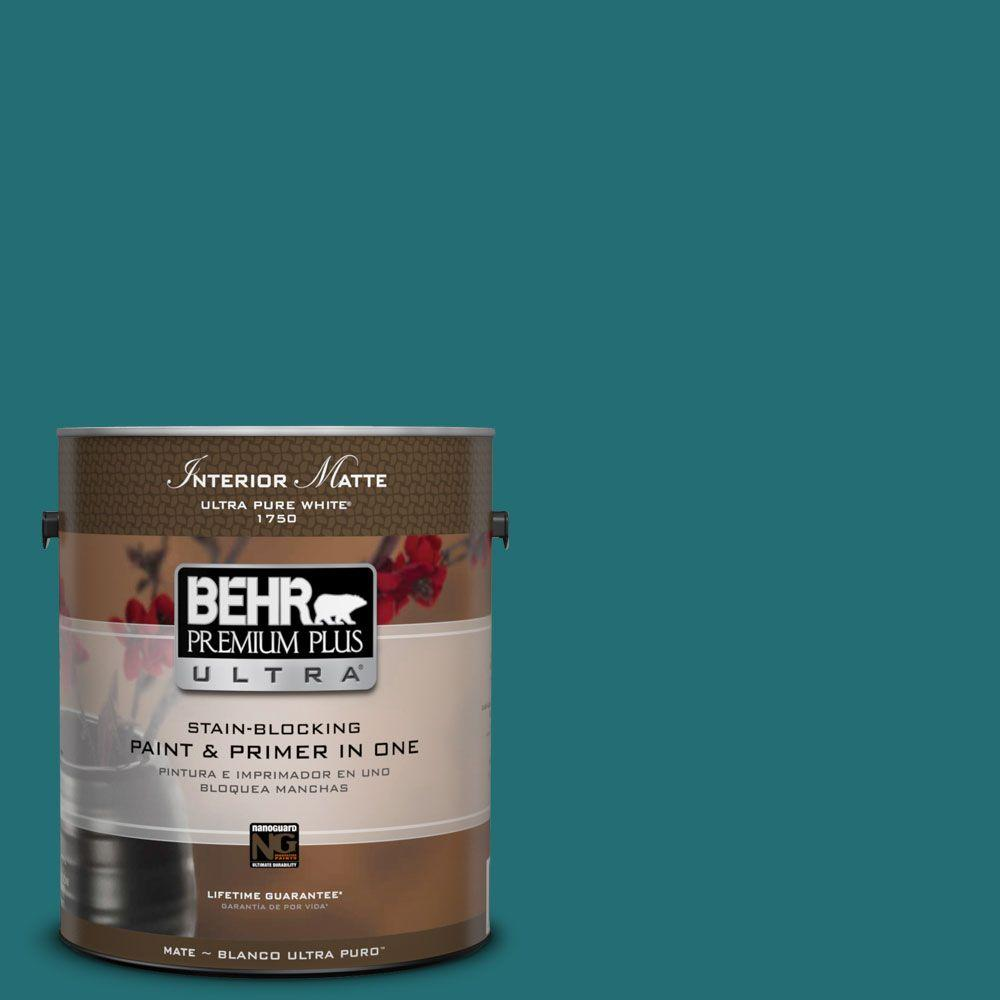 1 gal. #M460-7 Antigua Matte Interior Paint