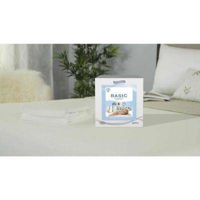 Polyester Basic Twin Waterproof Mattress Protector
