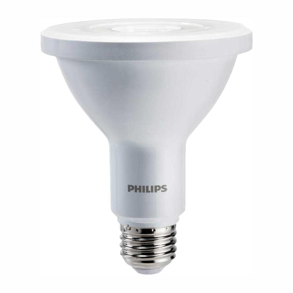 Philips 75-Watt Equivalent PAR30L LED Indoor/Outdoor LED Energy Star Bright White