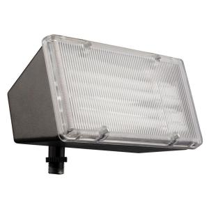 Lithonia Lighting 2-Light Wall-Mount Outdoor Bronze Mini-Floodlight by Lithonia Lighting