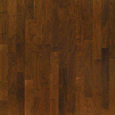 Take Home Sample - Walnut Natural Glaze Engineered Click Wood Flooring - 5 in. x 7 in.