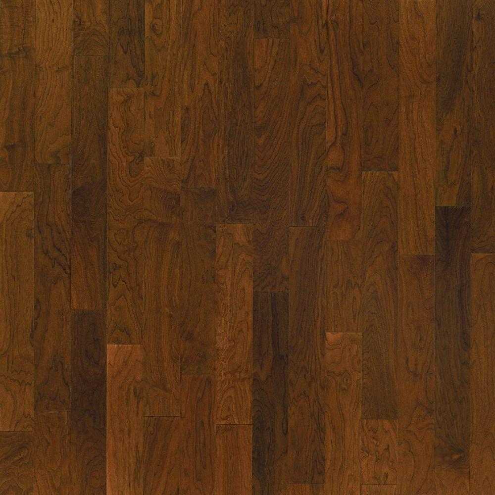 Millstead Take Home Sample - Walnut Natural Glaze Engineered Click Wood Flooring - 5 in. x 7 in.