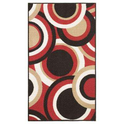 Circles Multi 2 ft. x 4 ft. Area Rug