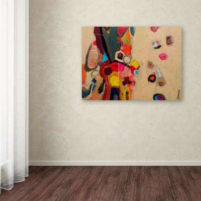 """35 in. x 47 in. """"La Famille"""" by Sylvie Demers Printed Canvas Wall Art"""