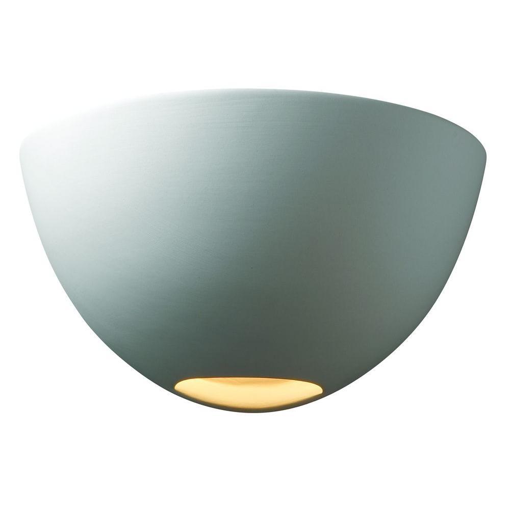 Filament Design Leonidas 1-Light Paintable Ceramic Bisque Small Metro Sconce
