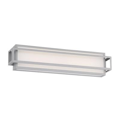 Equation 22 in. Titanium LED Vanity Light Bar and Wall Sconce, 3000K