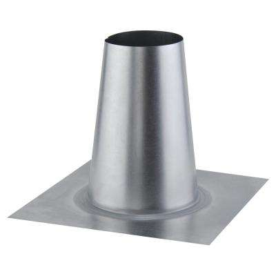 5 in. Tall Cone Flashing for Flat Roof for Tankless Gas Water Heaters