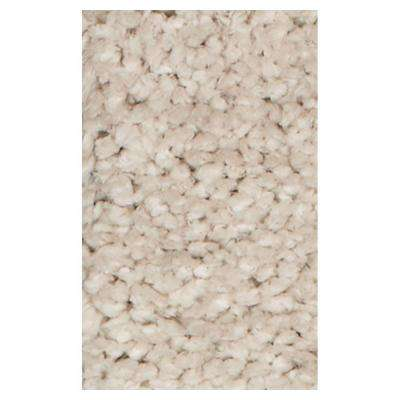Stocky Shag Ivory 7 ft. 6 in. x 9 ft. 6 in. Area Rug