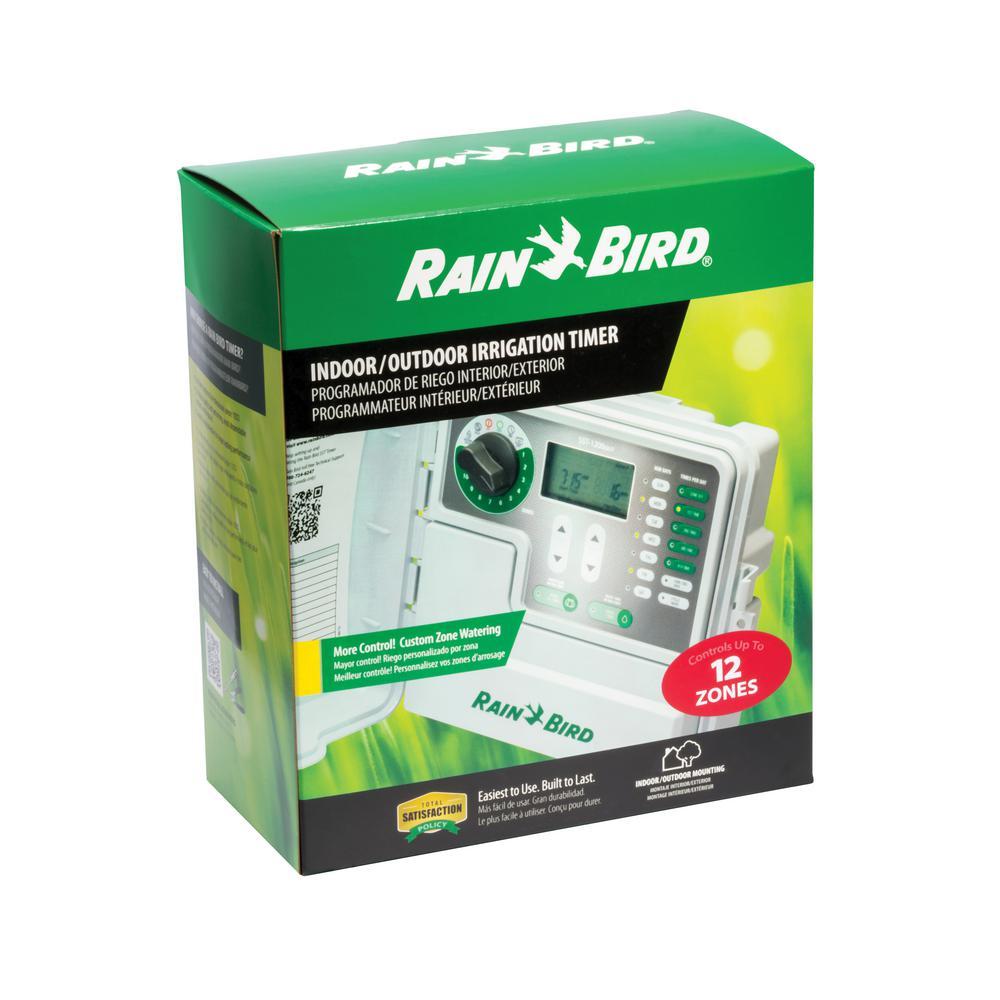 Rain Bird 12-Station Indoor/Outdoor Simple-To-Set Irrigation Timer Rain Bird Pc Wiring Diagrams on