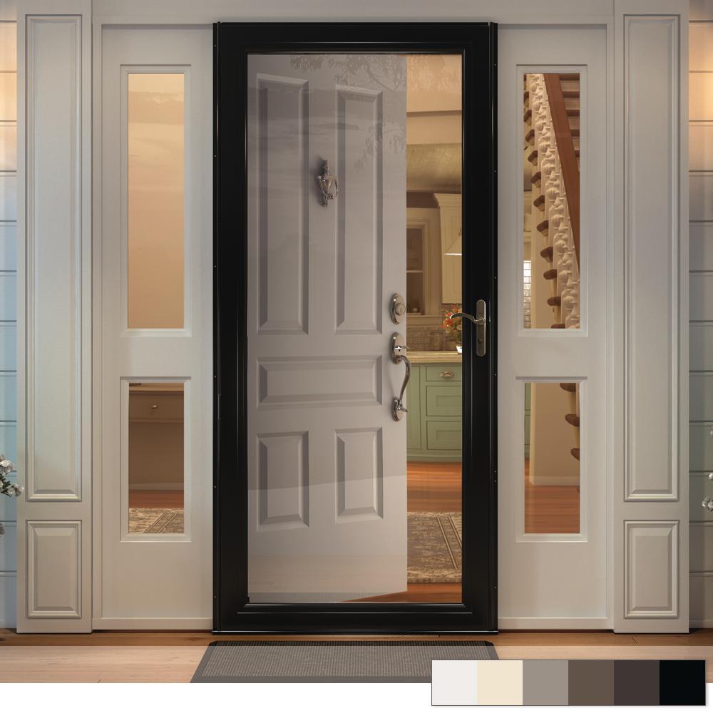 10 Series Full View Interchangeable Aluminum Storm Door