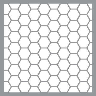 12 in. x 12 in. Honeywire Stencil