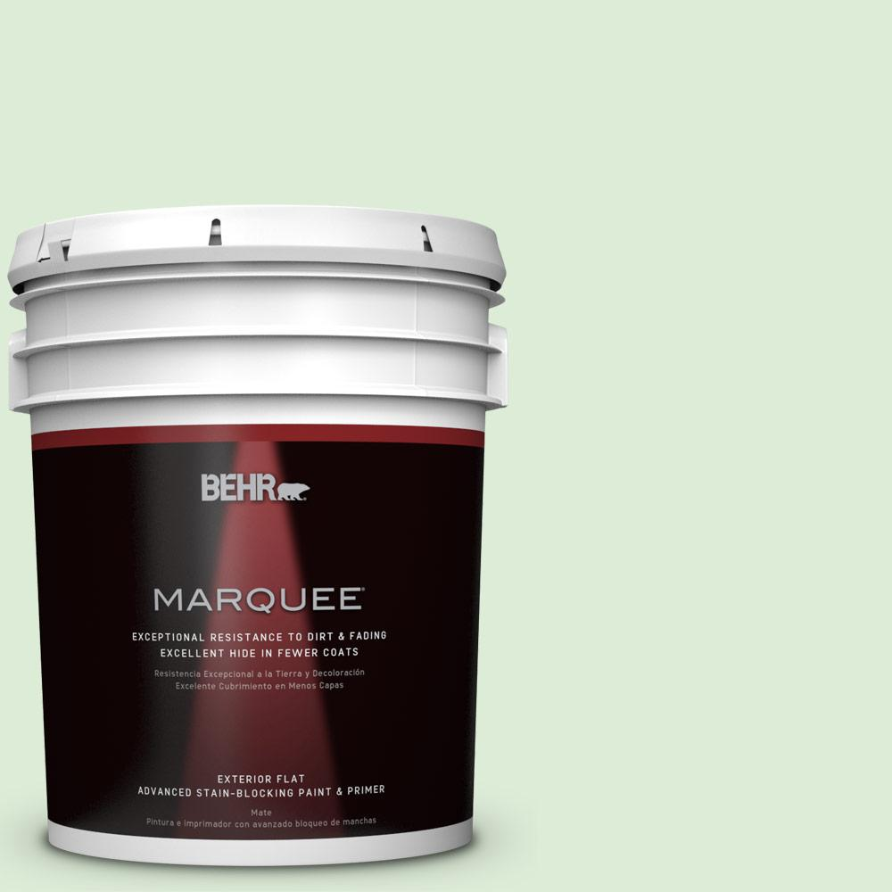 5-gal. #M390-2 Misty Meadow Flat Exterior Paint