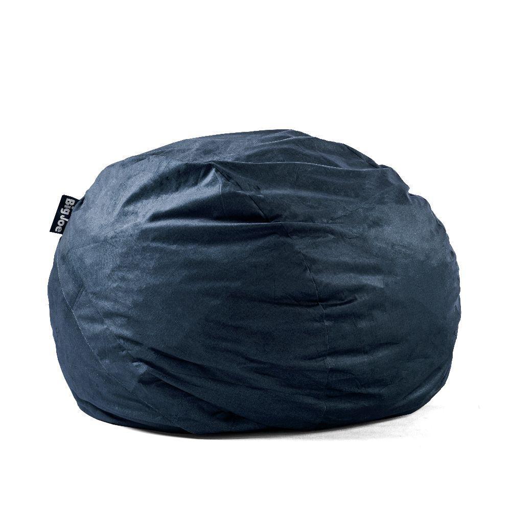 King FUF Shredded Ahhsome Foam Cobalt Lenox Bean Bag