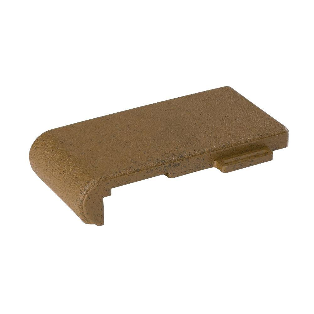 4 in. x 8 in. Olive Composite Resurfacing Bullnose Pavers (36