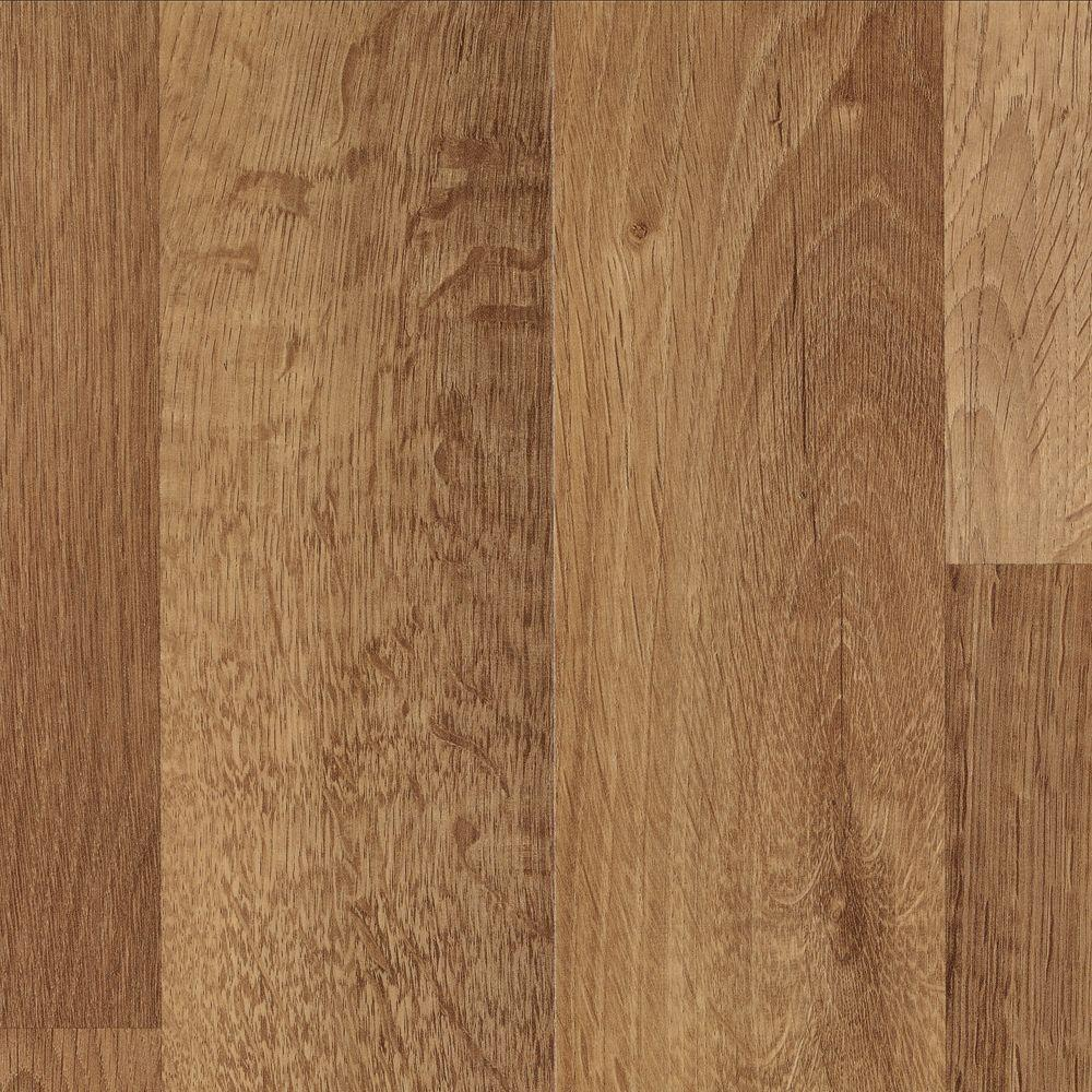 Mohawk Brentmore Sunwashed Oak Laminate Flooring - 5 in. x 7 in. Take Home Sample
