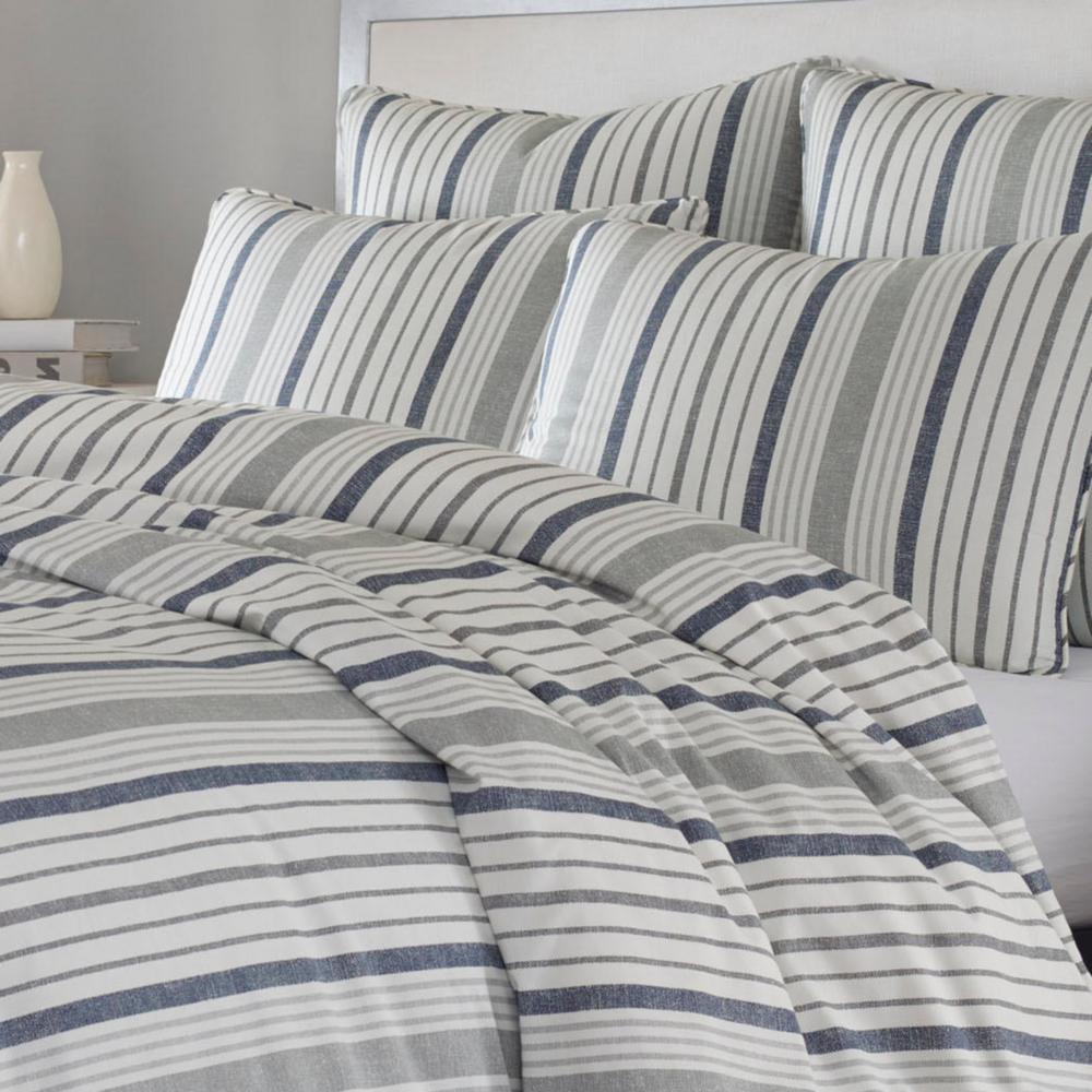 Conrad Striped Duvet Cover Set