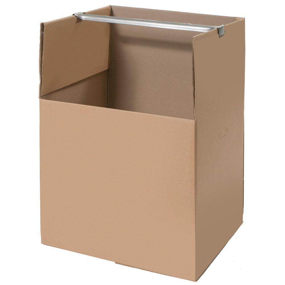 Pratt Retail Specialties 24 in. L x 24 in. W x 34 in. D Moving Box (48-Pack)