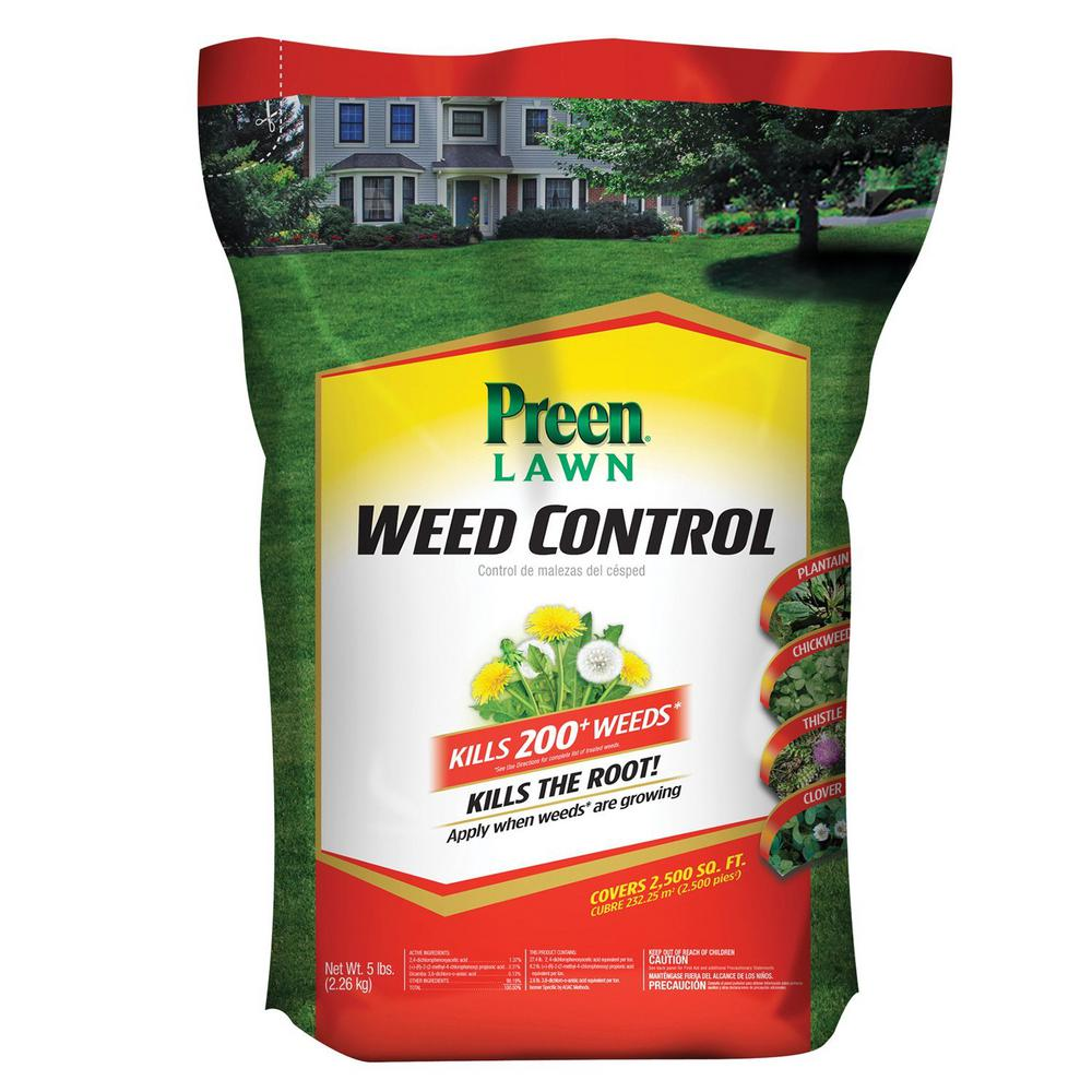 5 lbs. Lawn Weed Control