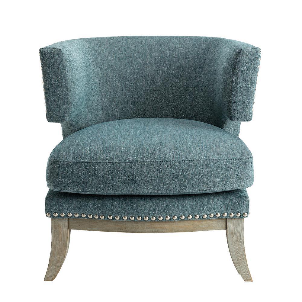 Aubrey Blue Accent Chair