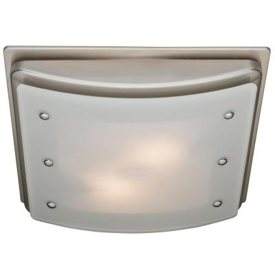 Ellipse Decorative 100 CFM Ceiling Bathroom Exhaust Fan with Light and Night Light