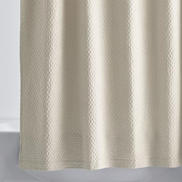 Legends Sterling 72 in. Sand Shower Curtain