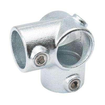 1-1/4 in. Galvanized Structural Steel Side Outlet Tee (2-Pack)