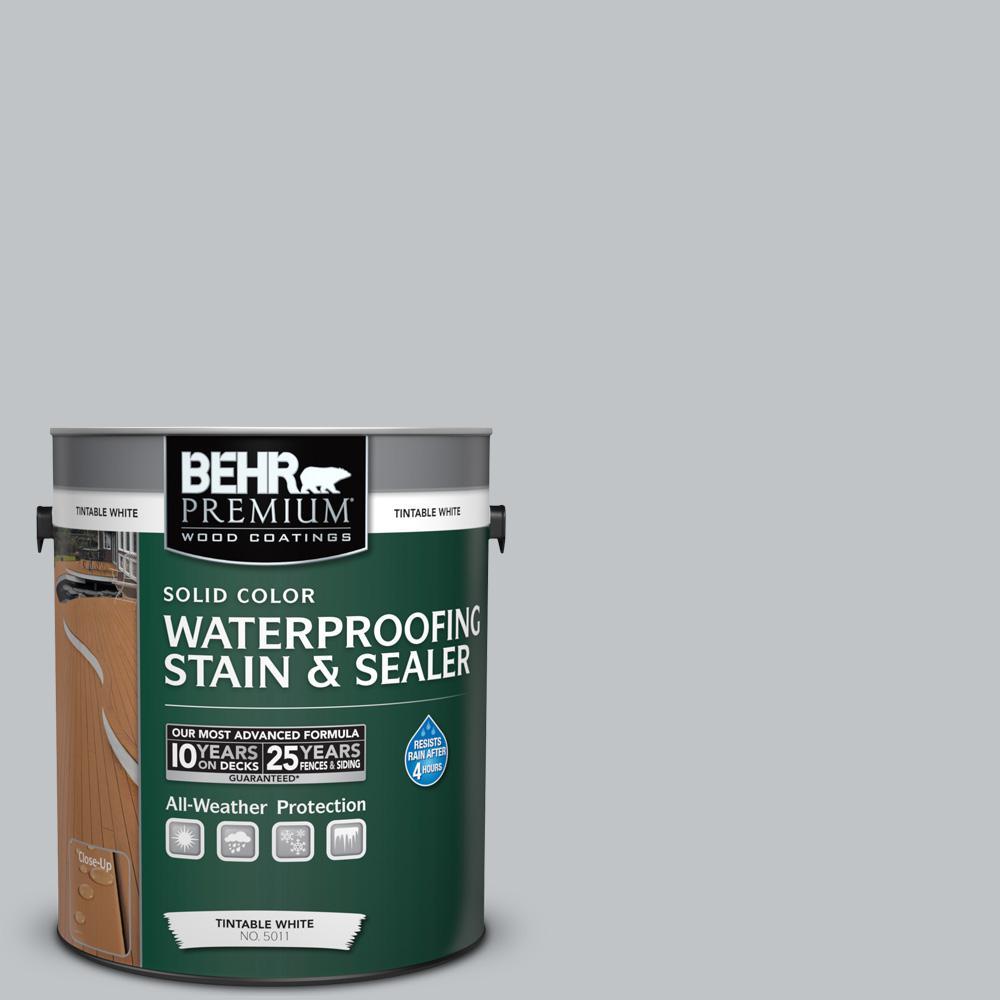 1 gal. #N510-2 Galactic Tint Solid Waterproofing Stain and Sealer