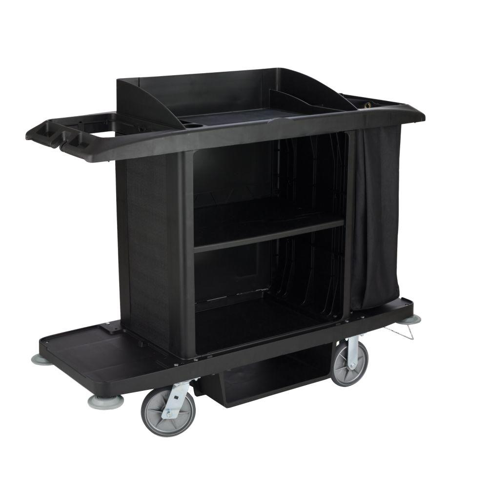 Full Size Housekeeping Cleaning Cart