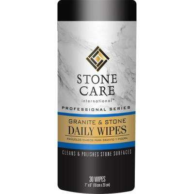 Granite and Stone Cleaner Daily Wipes (30-Count)